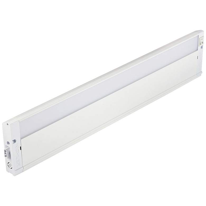 "Kichler 4U Textured White 22"" Wide LED Under Cabinet Light"