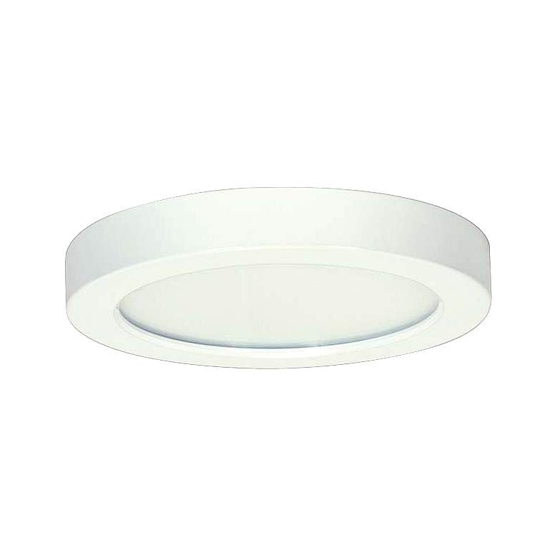 "Blink White 5 1/2"" Wide Round LED Ceiling"