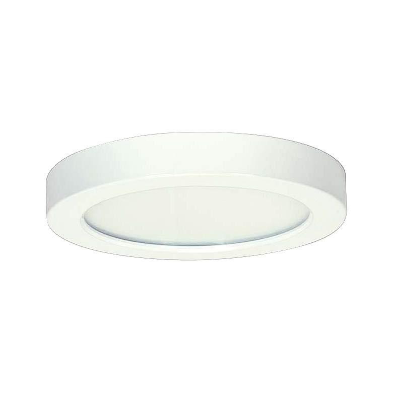 """Blink White 5 1/2"""" Wide Round LED Ceiling Light"""