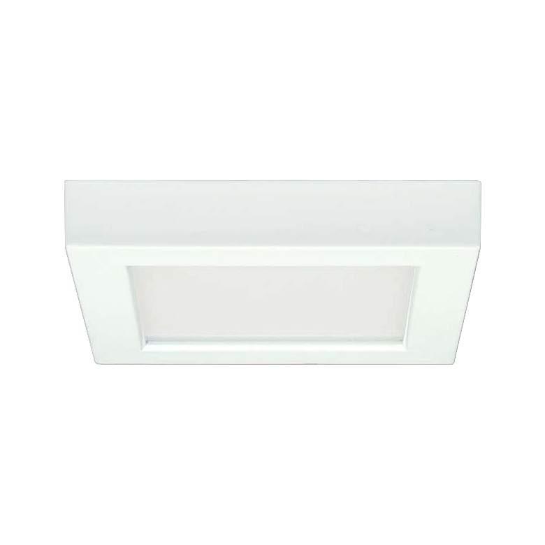 """Blink White 9"""" Wide Square LED Ceiling Light"""