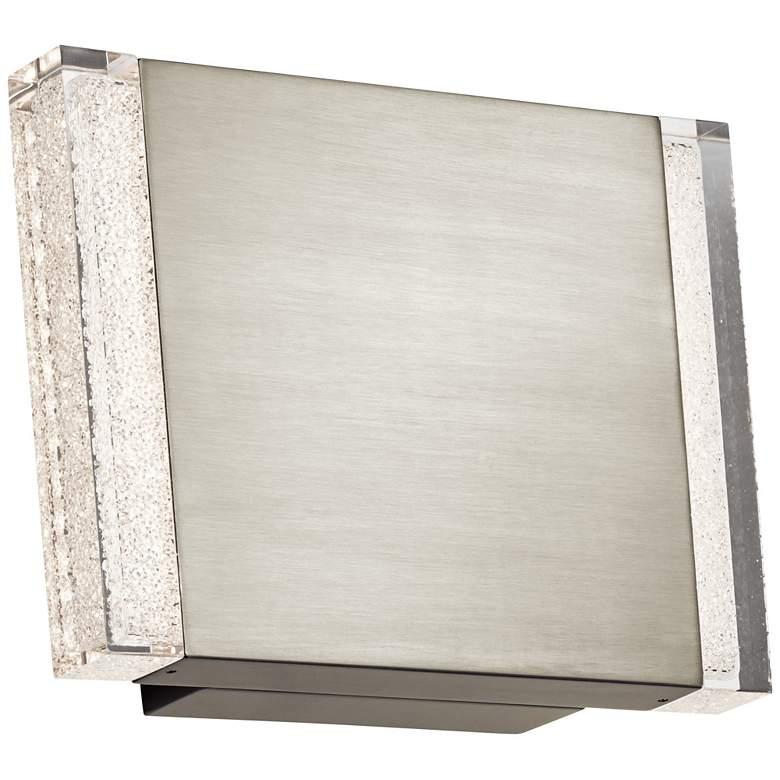 """Elan Balta Brushed Nickel 9"""" High LED Wall Sconce"""