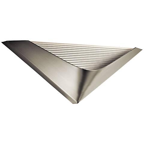 """Elan Pamdin Brushed Nickel 15 3/4"""" Wide LED Wall Sconce"""