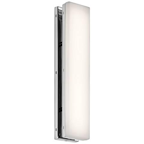 "Elan Zagg Chrome 12 1/2"" High LED Wall Sconce"