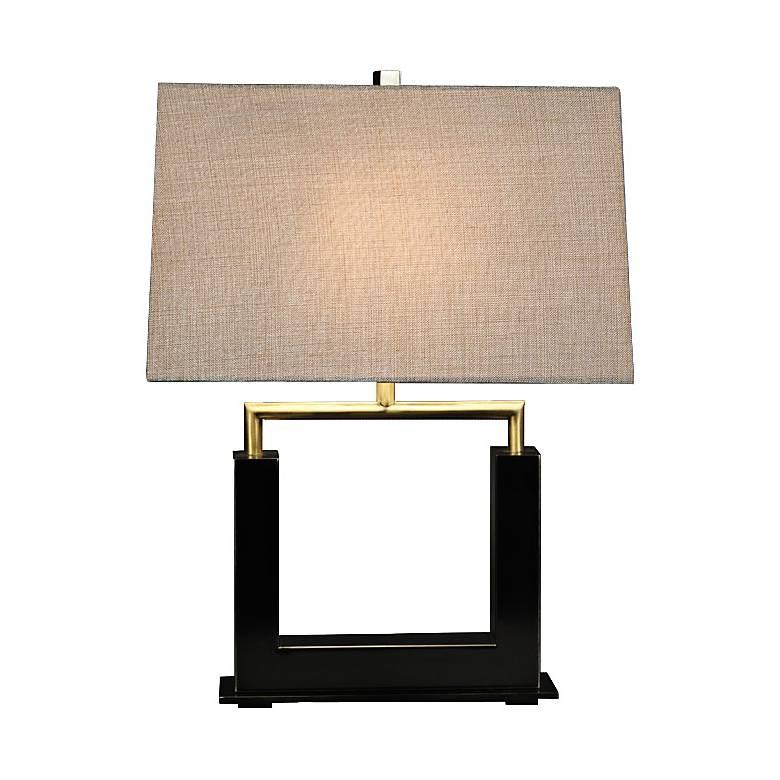 Urbane Dark Bronze Metal Table Lamp