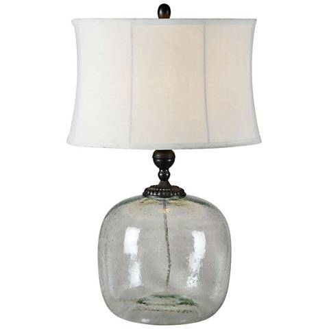 Luna Glass Table Lamp