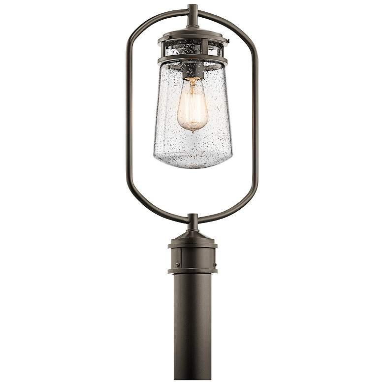 "Kichler Lyndon 20""H Olde Bronze Small Outdoor Post Light"