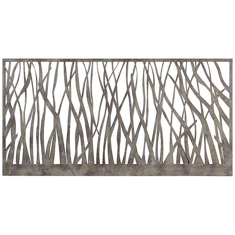 "Uttermost Amadahy 60"" Wide Abstract Metal Wall Art"