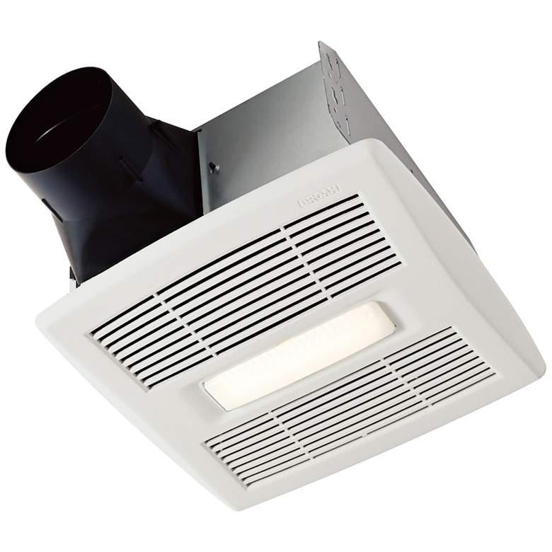 NuTone InVent LED White 80 CFM 1.5 Sones