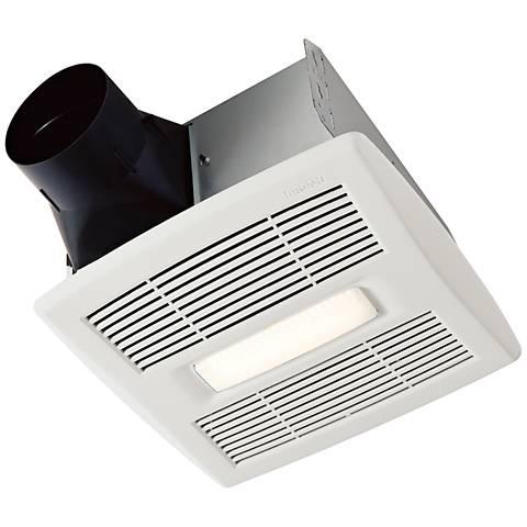 NuTone InVent LED White 80 CFM 1.5 Sones Lighted Bath Fan