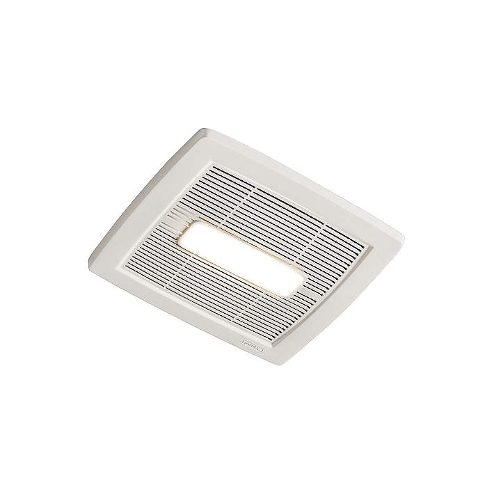White 80 Cfm 0 8 Sones Lighted Bath Fan