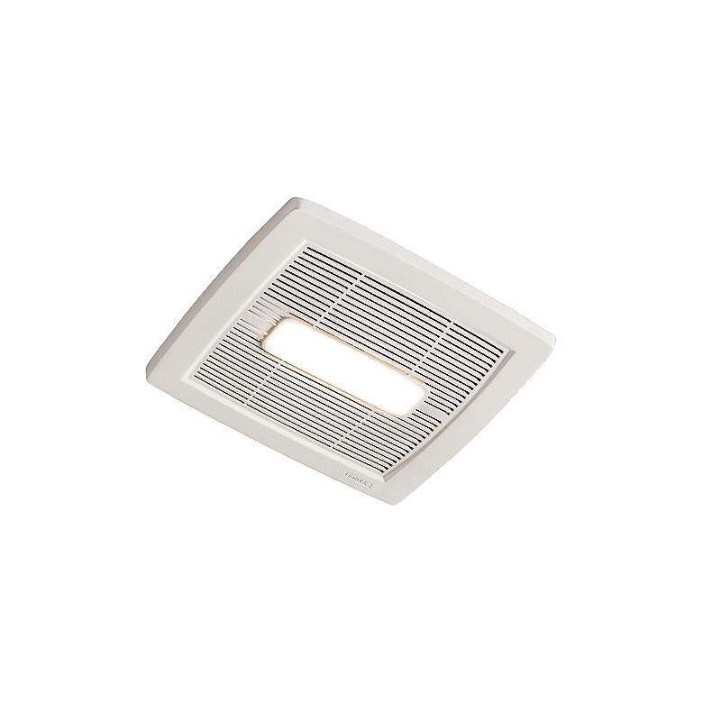 NuTone InVent LED White 80 CFM 0.8 Sones Lighted Bath Fan