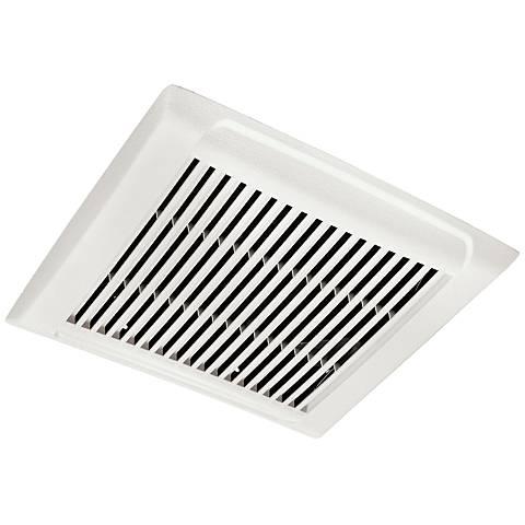 Broan InVent White 50 CFM 0.5 Sones Bathroom Exhaust Fan