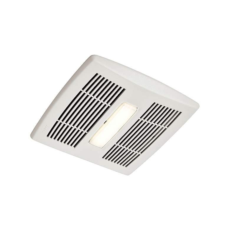 Broan InVent LED White 80 CFM 0.8 Sones Lighted Bath Fan