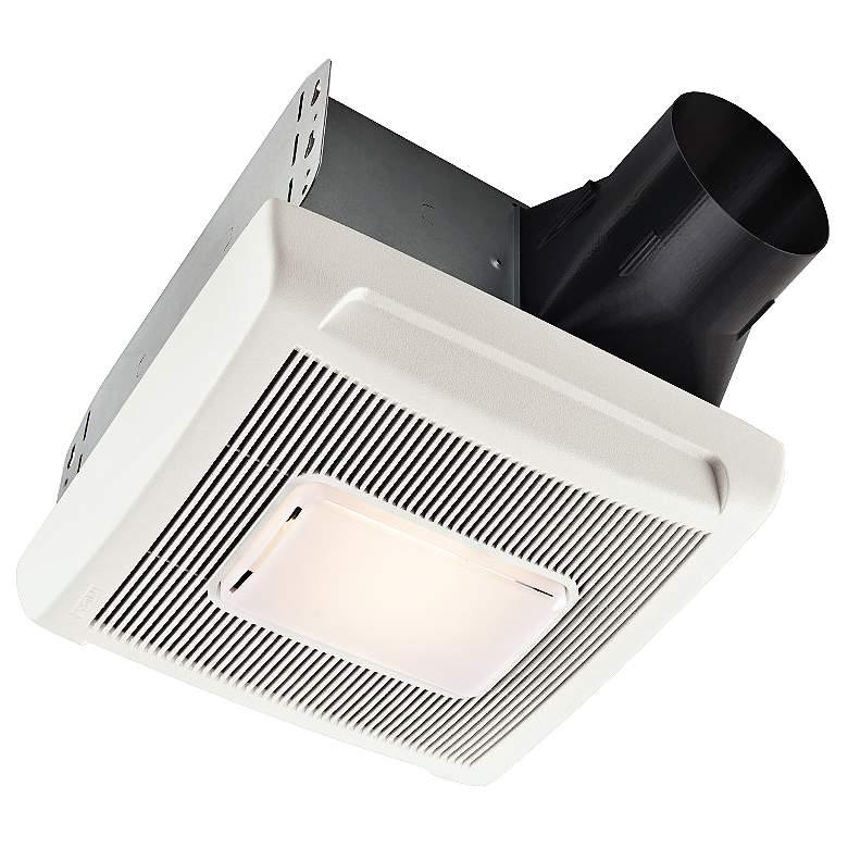 Broan InVent White 50 CFM 1.5 Sones Bath Fan with Light