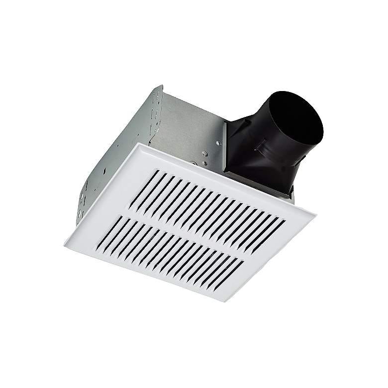 Broan InVent White Metal Grill 80 CFM 2.0 Sones Bath Fan