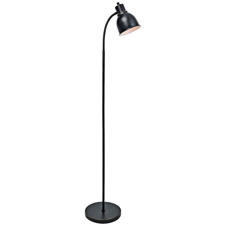 Lite Source Galvin Bronze Task Floor Lamp