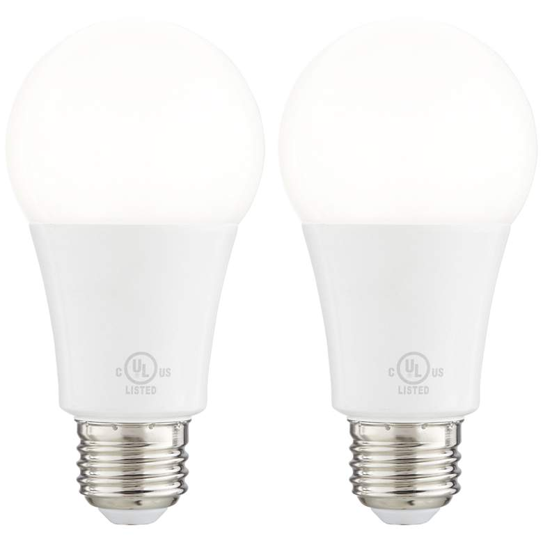 75 Watt Equivalent Frosted 11W LED Dimmable Standard 2-Pack