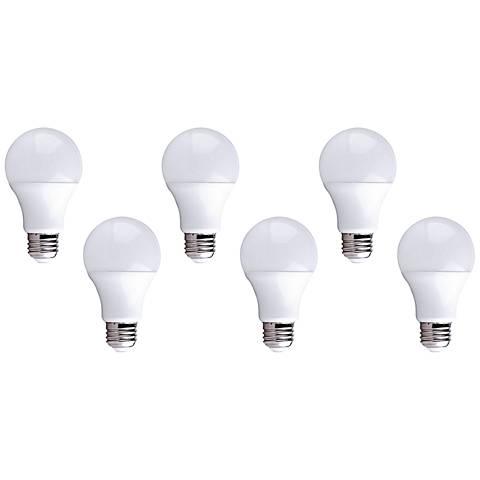 100W Equivalent 16W LED Dimmable Standard Bulb 6-Pack