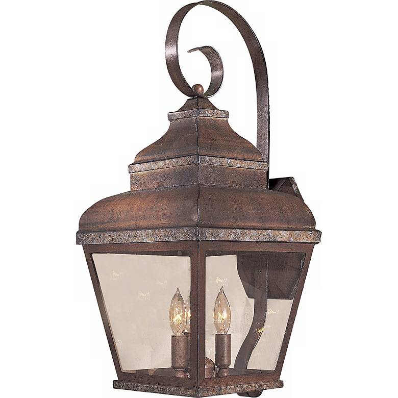 """Mossoro Collection 22 3/4"""" High Outdoor Wall Light"""