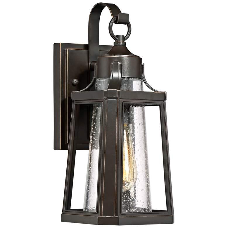 """Quoizel Lighthouse 13 1/4"""" High Bronze Outdoor Wall Light"""