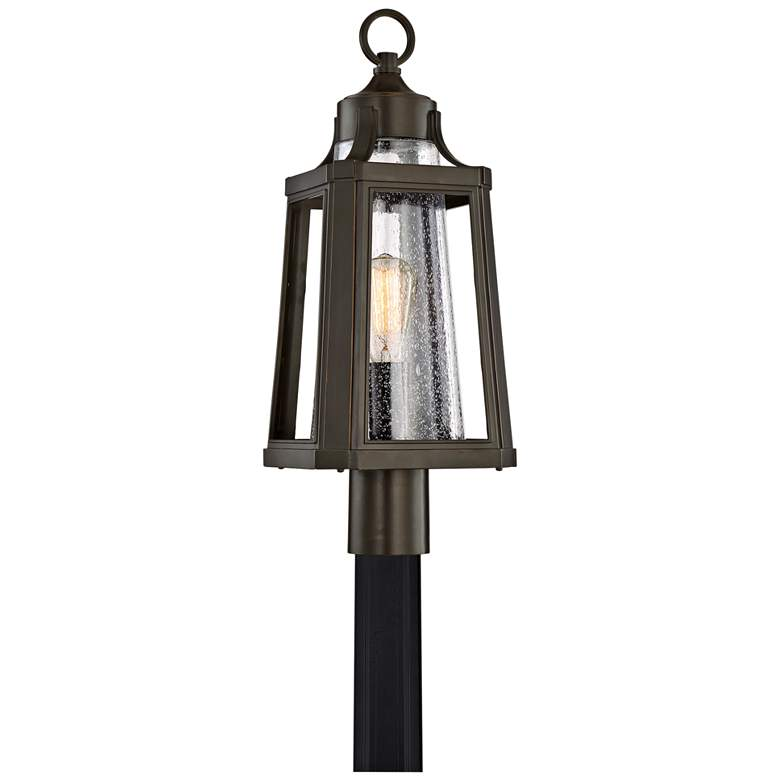 "Quoizel Lighthouse 22""H Palladian Bronze Outdoor Post Light"