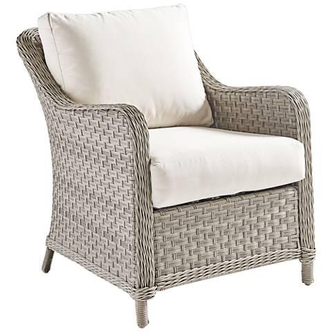 Springfield Pebble Wicker Outdoor Armchair