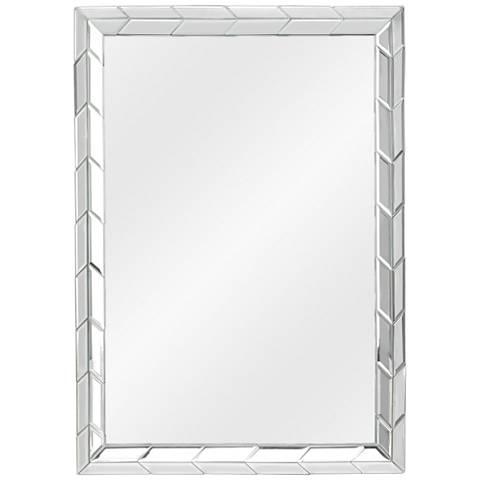 "Cooper Classics Aria Beveled 24"" x 36"" Wall Mirror"