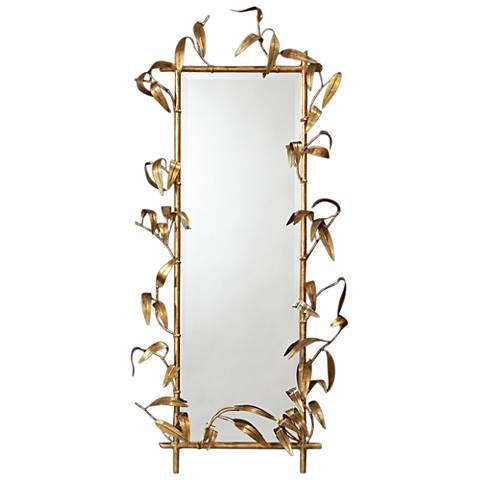 "Bamboo Gold 28"" x 49"" Wall Mirror"