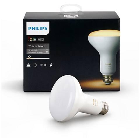 Philips Hue White Ambiance BR30 LED Light Bulb