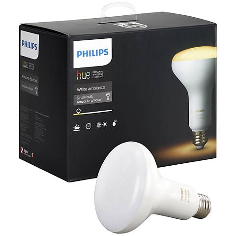 60W Equivalent 8W LED BR30 2-Pack Philips Hue System Bulbs