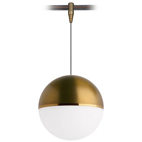 Tech lighting akova 7w aged brass led monorail mini pendant tech lighting akova 7w aged brass led monorail mini pendant aloadofball Image collections
