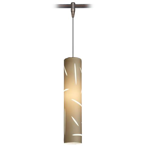 "Talisma 3"" Wide Antique Bronze LED Monorail Mini Pendant"