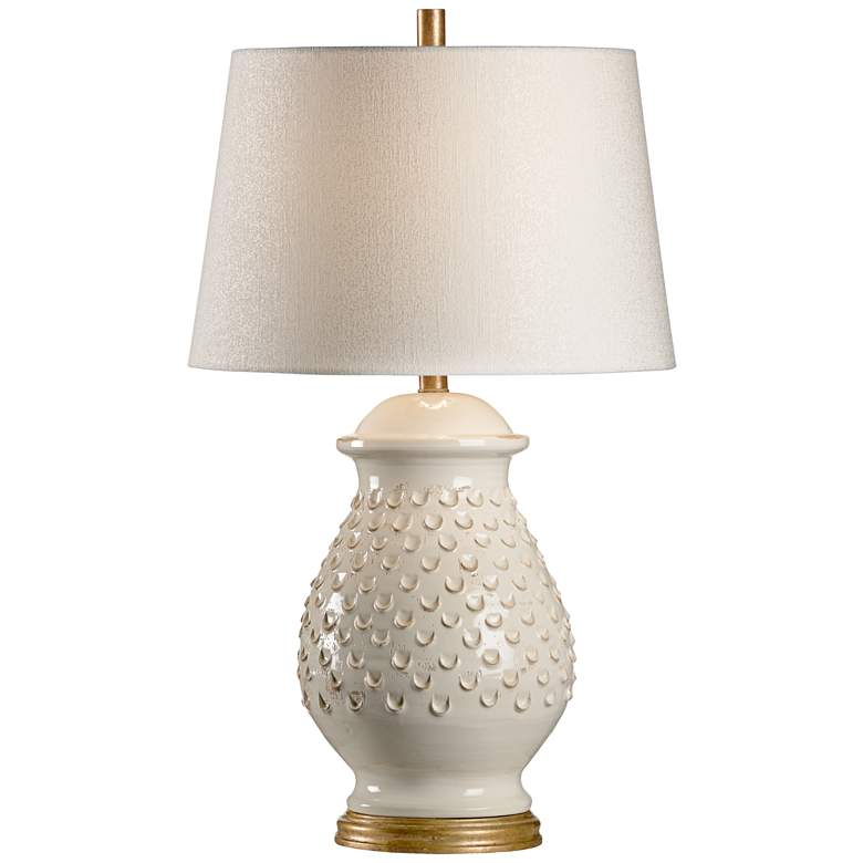 Wildwood Fiera Aged Cream Glaze Ceramic Table Lamp