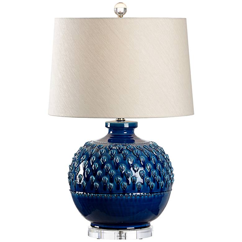 Wildwood Carlotta Indigo Glaze Ceramic Table Lamp