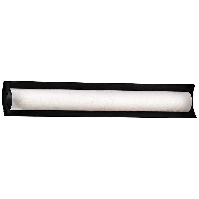 """Fusion™ Lineate 30"""" Wide Matte Black LED Bath"""