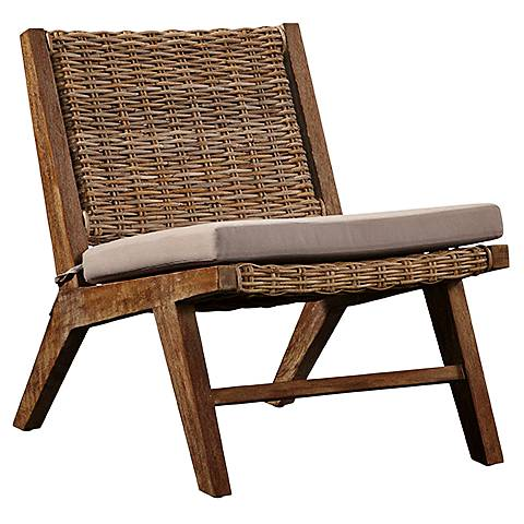 Osprey Reef Natural Kubu Accent Chair