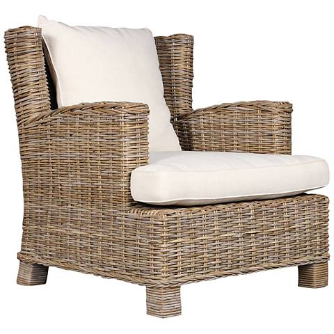 Oasis Bleached Driftwood Club Chair