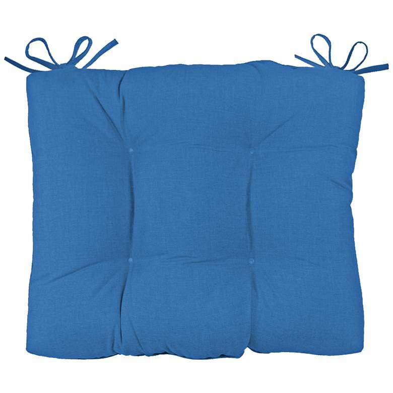 "Palmdale Canvas Capri 24 1/2"" Wide Tufted Chair Back Cushion"