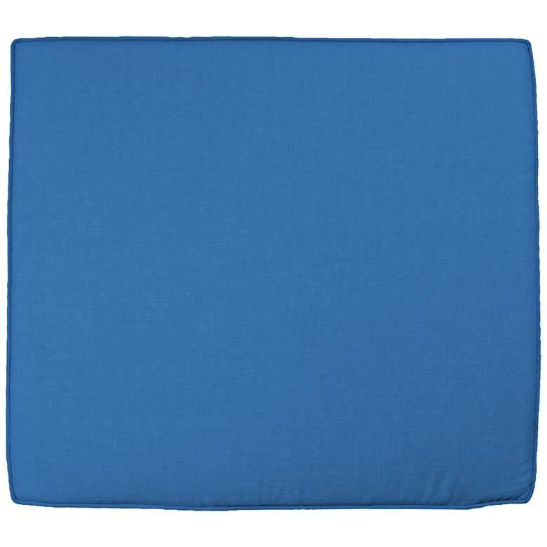 """Sunbrella Parma Canvas Capri 24 1/2"""" Wide Chair Cushion"""