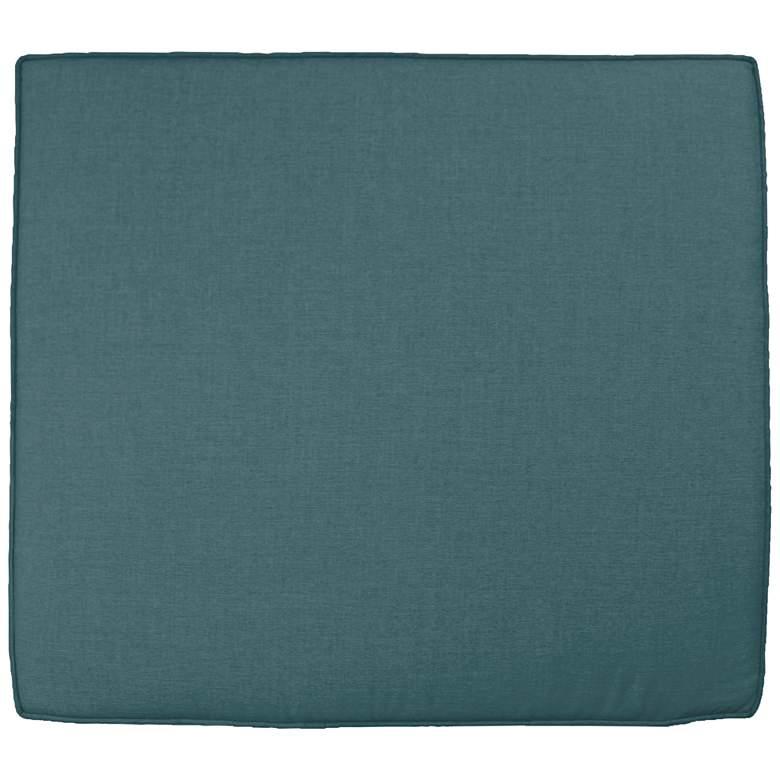 """Sunbrella Parma Cast Lagoon 24 1/2"""" Wide Chair Cushion"""
