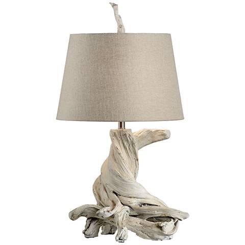 Wildwood Olmsted Whitewash Table Lamp