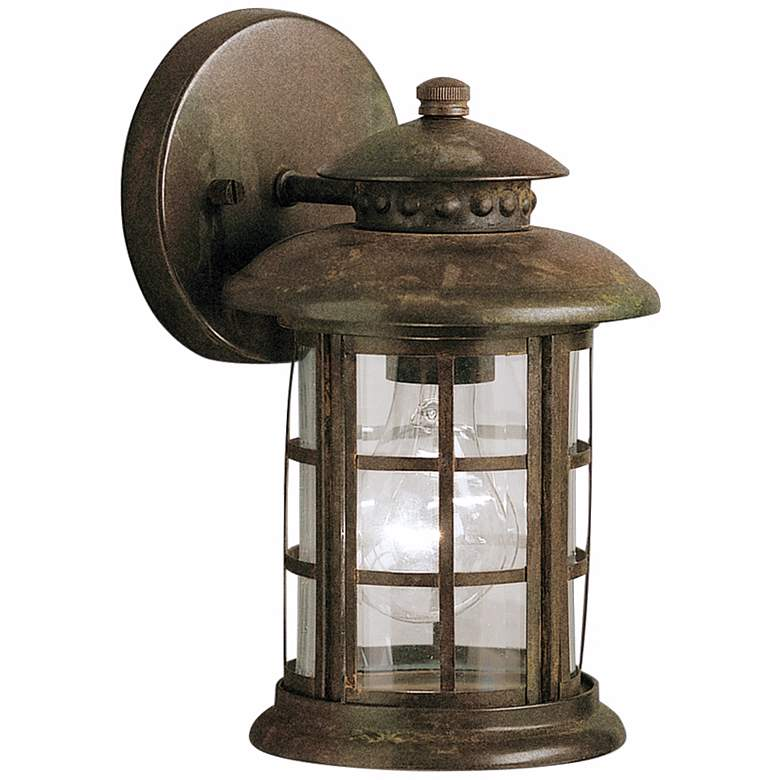 """Kichler Rustic 10"""" High Outdoor Wall Light"""