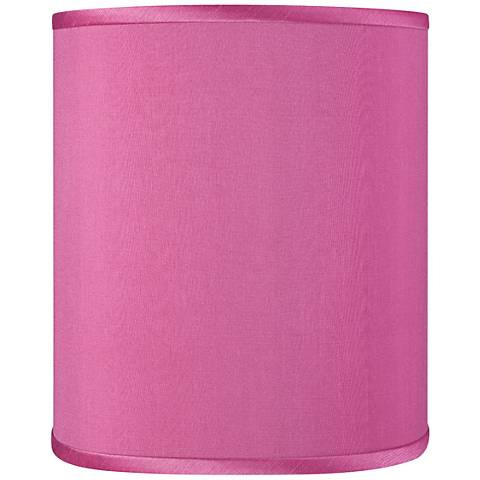 Pink Orchid Faux Silk Shade 10x10x12 (Spider)