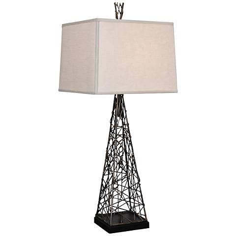 Van Teal Berwick Bronze Metal Table Lamp