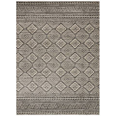 Emory EB-08 Graphite and Ivory Area Rug