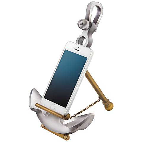 Ashton Aluminum and Brass Anchor Stand