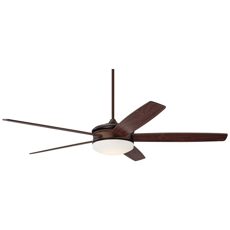 """70"""" Coastline Oil Brushed Bronze LED Ceiling Fan"""