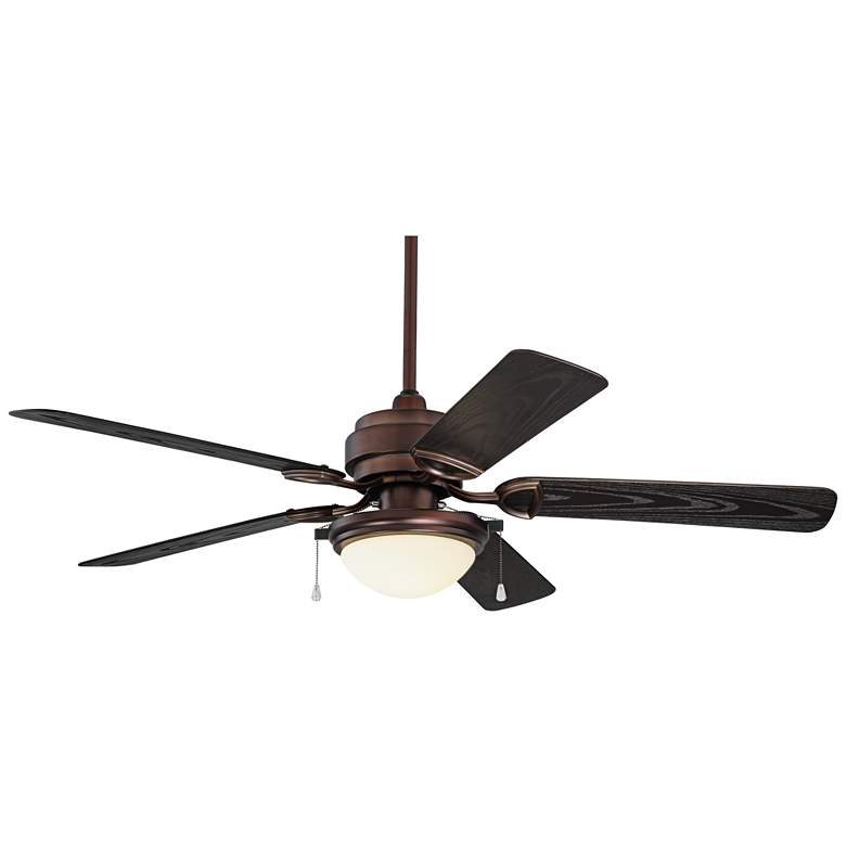 "52"" Marina Breeze Oil Brushed Bronze Wet LED Ceiling Fan"