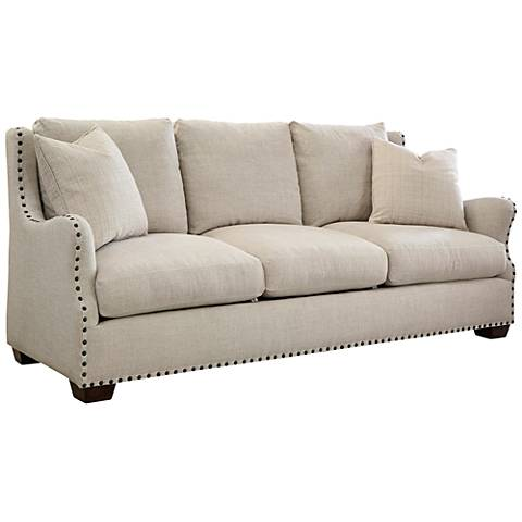 Connor Belgian Linen 3-Seat Sofa