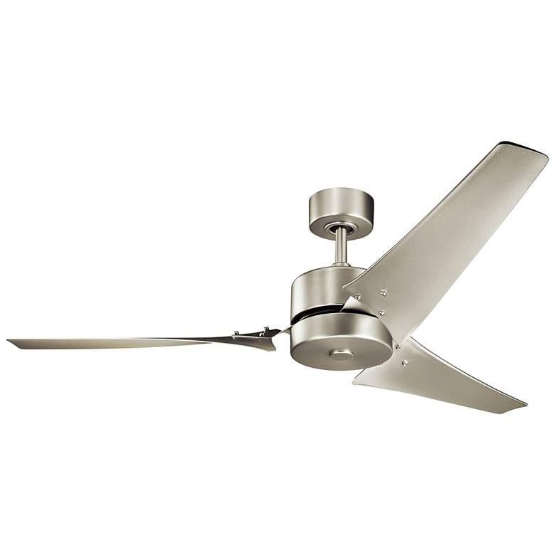 """60"""" Kichler Motu™ Brushed Nickel Ceiling Fan"""